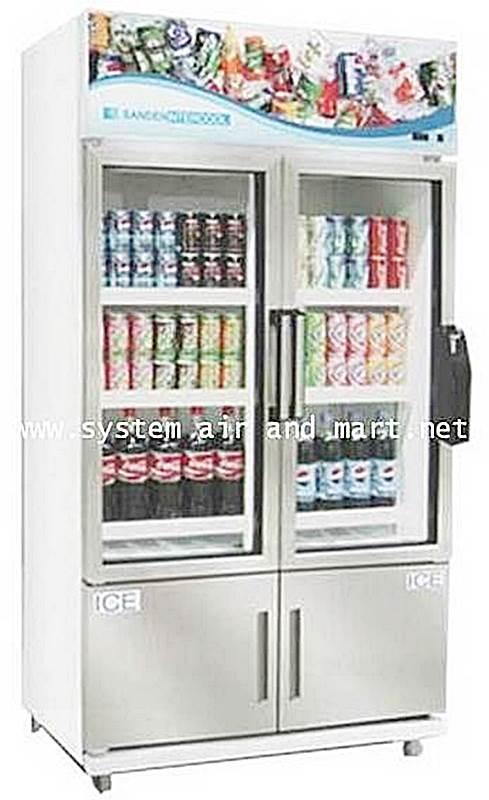ตู้แช่ 2 ประตูiw SANDEN รุ่น YDM-N110P