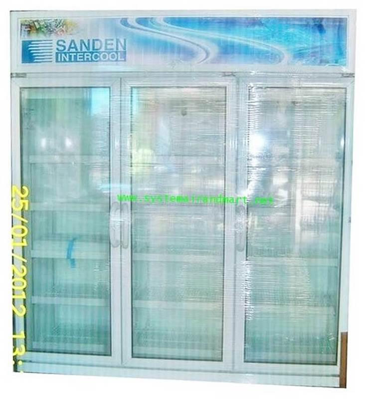 ตู้แช่เย็นกระจก 3 ประตู SANDEN รุ่น SEC-N1500SBD 1