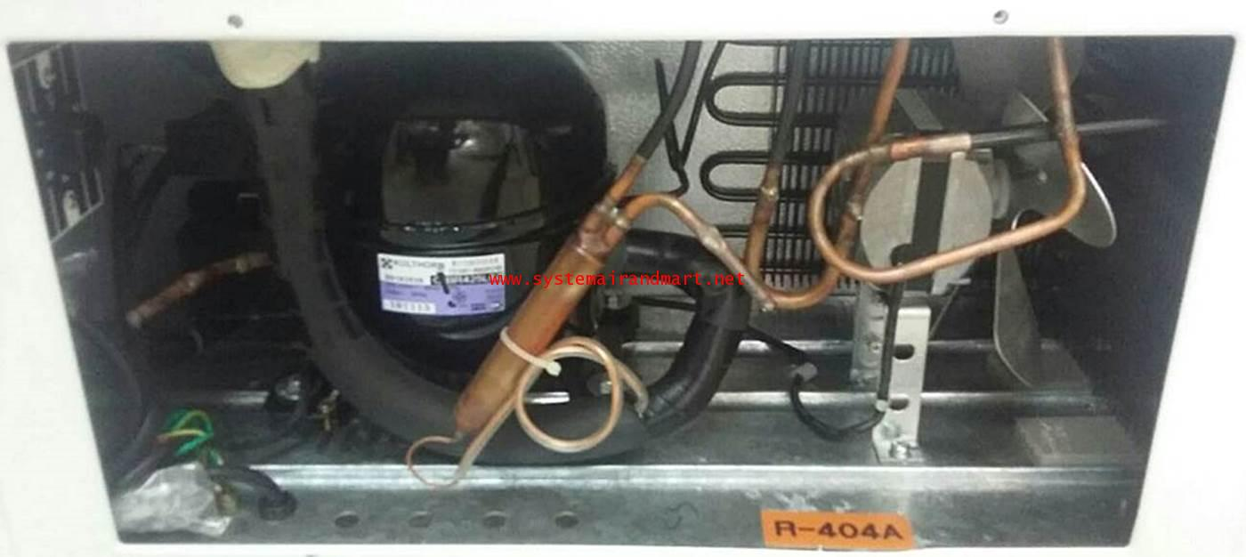 ตู้แช่แข็งกระจกบานเลื่อนโค้งSNC-0403N 5