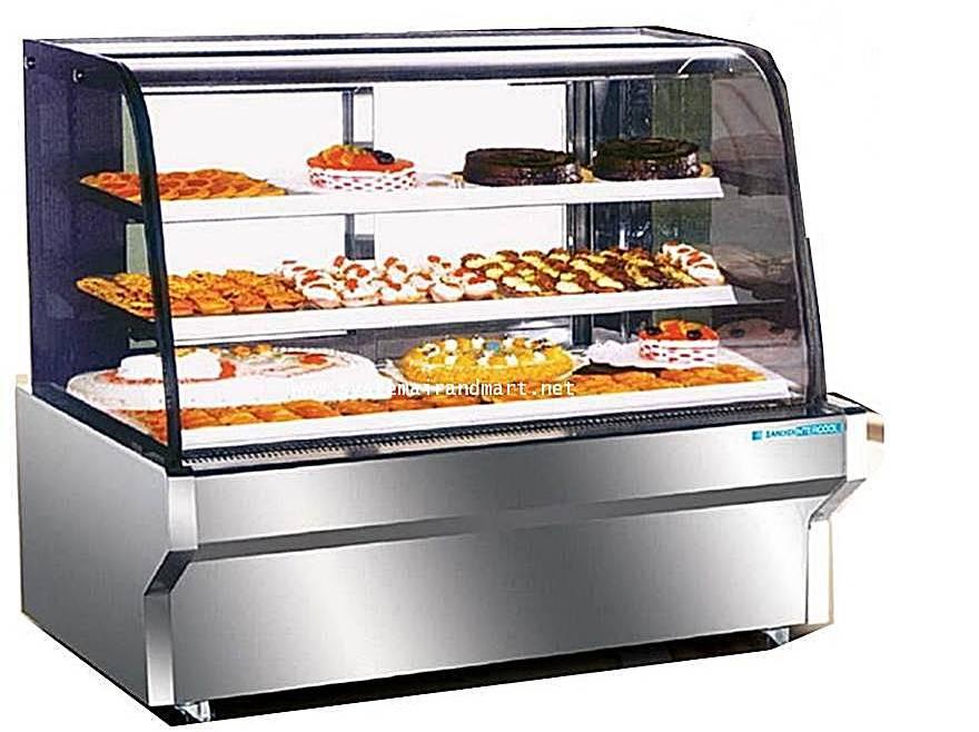 ตู้โชว์เค้กมีขนาดกว้าง 90-120-150-180 ซม