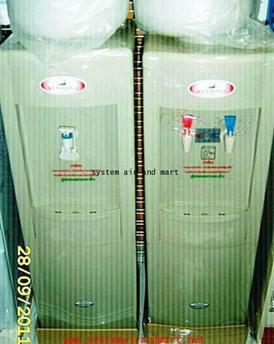 ตู้ทำน้ำเย็น-ร้อน แบบขวดคว่ำพลาสติก