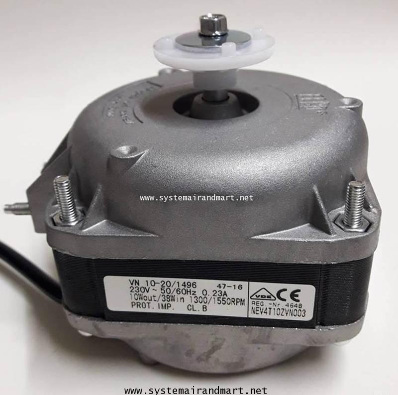 มอเตอร์พัดลมระบายความร้อนตู้แช่ ELCO 10W 2