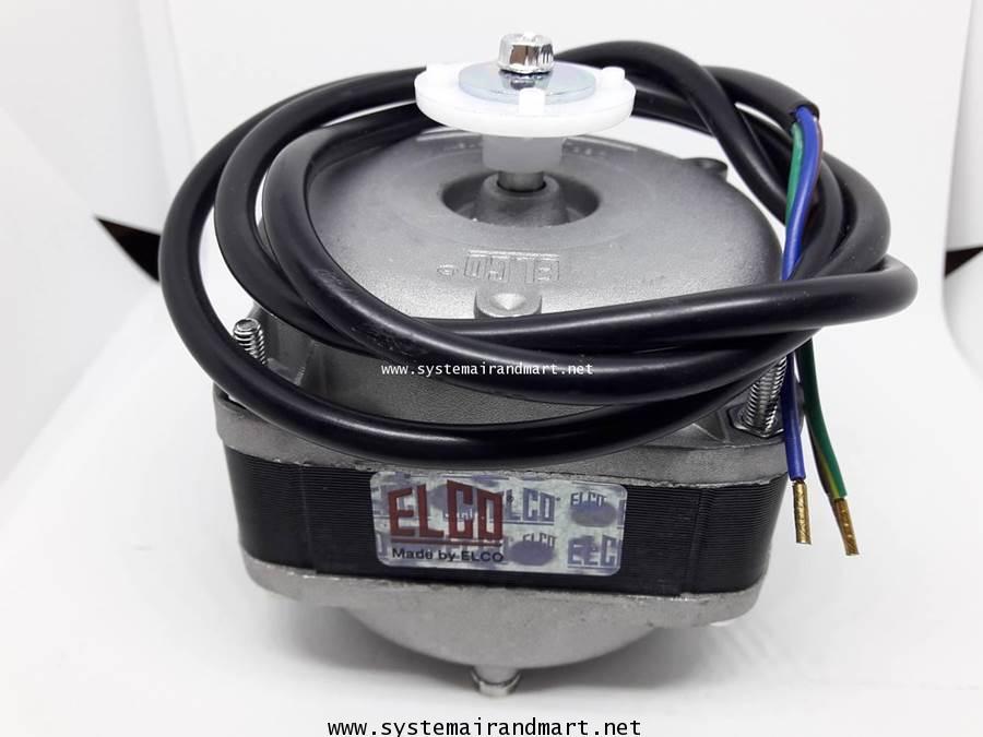 มอเตอร์พัดลมระบายความร้อนตู้แช่ ELCO 10W 4