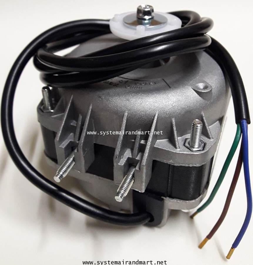 มอเตอร์พัดลมระบายความร้อนตู้แช่ ELCO 10W 6