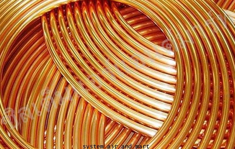 แป๊ปทองแดง 6 หุนบาง