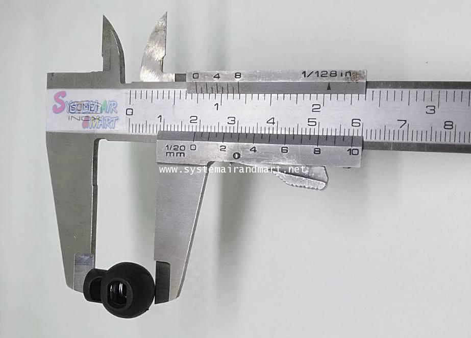 ตัวล็อคกันขโมยรู 5 มม(รูปทรงกลมเล็ก) 3