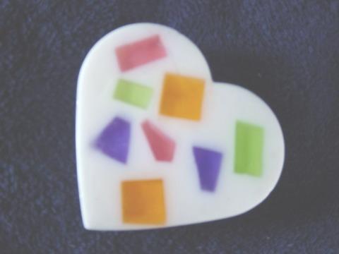 FS 0009  Heart soap