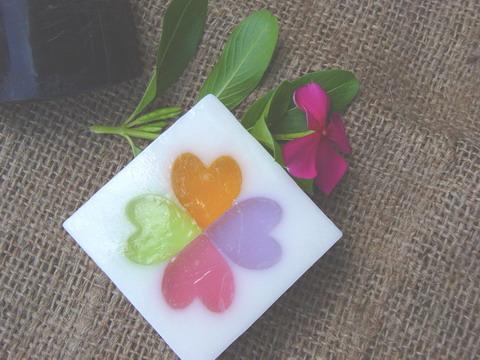 FS 0009  Heart soap 1