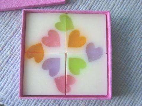 Jigsaw soap.
