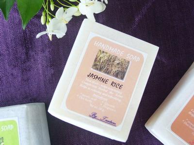 สบู่ข้าวหอมมะลิ  jasmine rice soap