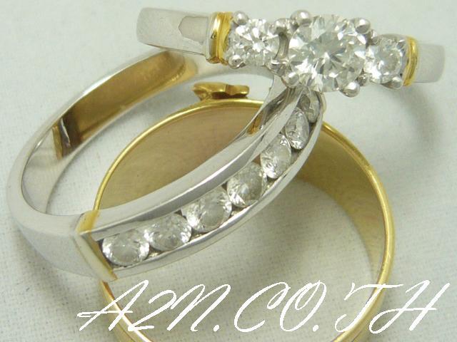 รับทำ แหวนแต่งงานในงบประมาณ   ที่คุณกำหนดเอง