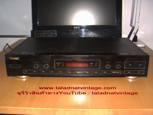 TEAC T-X3000 FM DIGITAL STEREO  SYNTHESIZER TUNER