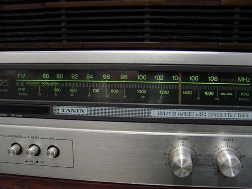 TANIN TCR-3322 วิทยุธานินทร์ รุ่น TOP 1
