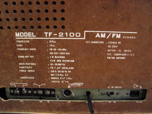 TANIN ธานินทร์ TF-2100 4
