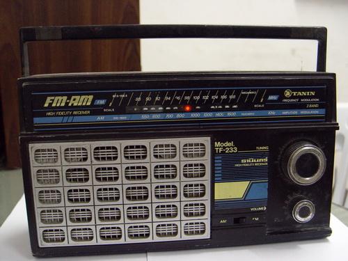 วิทยุโบราณ TANIN ธานินทร์ รุ่น TF-233 ระบบAM / FM ใช้งานได้ปกติ