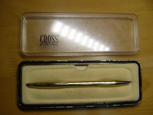 ปากกา CROSS 18k CAP BARREL