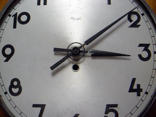 นาฬิกาแขวน KIENZLE ระบบไขลาน Made in GERMANY 4