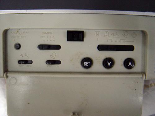 นาฬิกามุสลิมแขวนผนัง จอ LCD 1