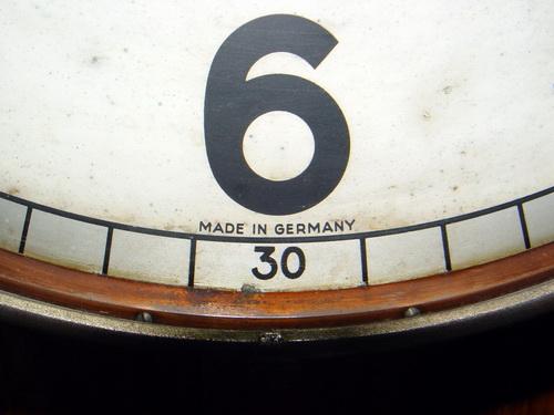 นาฬิกาแขวน MAUTHE มอร์เต้ ขนาด JUMBO 16 นิ้ว ระบบไขลาน 2