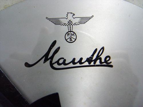 นาฬิกาแขวน MAUTHE มอร์เต้ ขนาด JUMBO 16 นิ้ว ระบบไขลาน 3