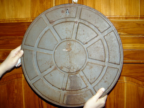 นาฬิกาแขวน MAUTHE มอร์เต้ ขนาด JUMBO 16 นิ้ว ระบบไขลาน 5