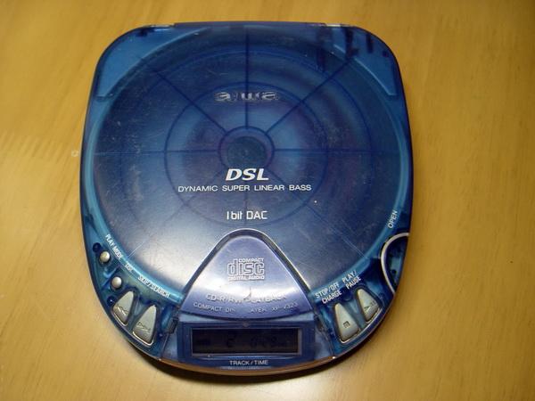 Aiwa CD-Walkman 1 Bit Dac