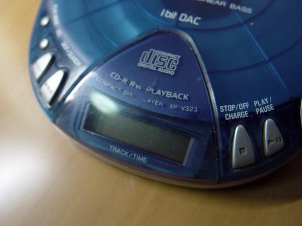 Aiwa CD-Walkman 1 Bit Dac 4