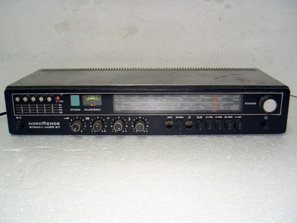 รีซีฟเวอร์เยอรมัน NORDMENDE 6020 ST