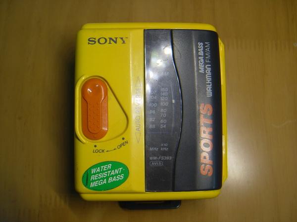 Sony Cassette Walkman Sport WM-FS393