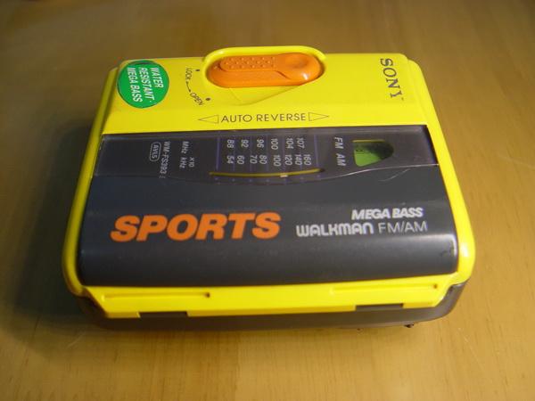 Sony Cassette Walkman Sport WM-FS393 1