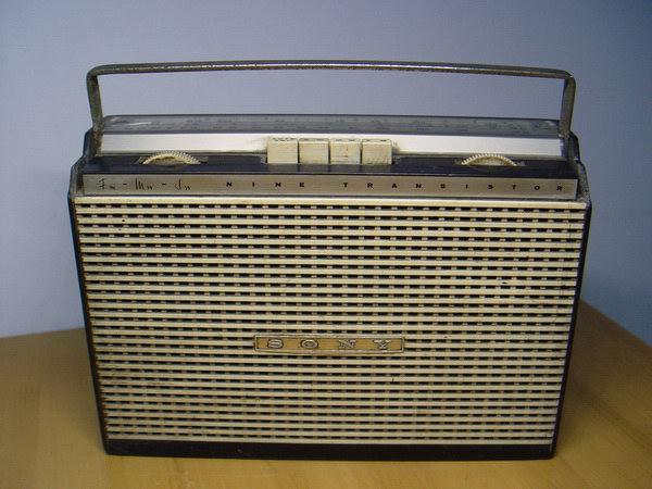 วิทยุโบราณ SONY TFM-95B