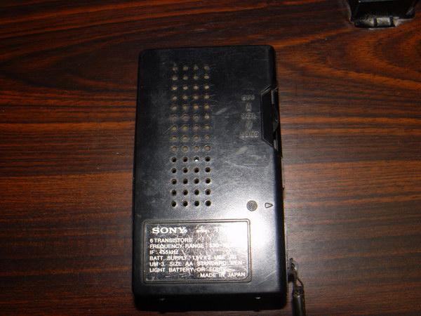วิทยุโบราณ SONY TR-3500 AM Walkman 3