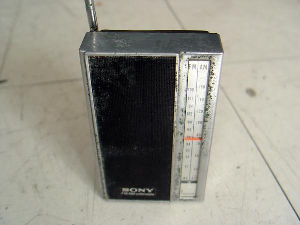 วิทยุโบราณ AM-FM SONY Walkman
