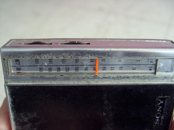 วิทยุโบราณ AM-FM SONY Walkman 5