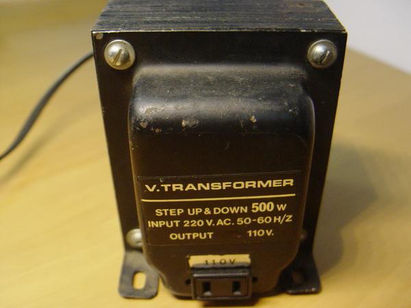 หม้อแปลงไฟ 110V ขนาด500 Watt