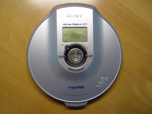 SONY Walkman D-NF600 CD/MP3/RADIO