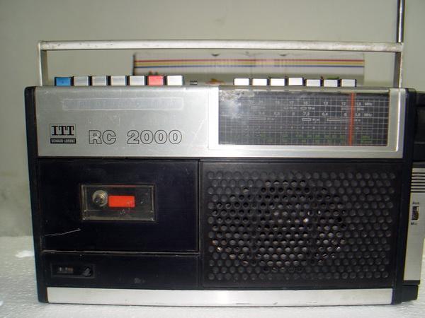 วิทยุเยอรมัน World-Band ITT SCHAUB-LORENZ RC-2000