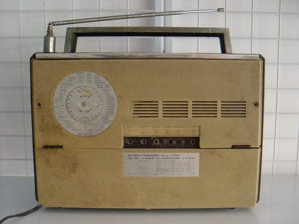 วิทยุ Vintage National-Panasonic World wide Band 3