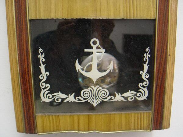 นาฬิกาแขวนลูกตุ้ม Steel Master (Anchor Brand)ตราสมอ 31 วัน 2ลาน 2