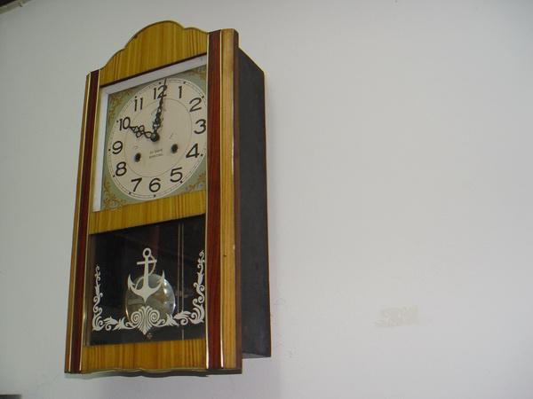 นาฬิกาแขวนลูกตุ้ม Steel Master (Anchor Brand)ตราสมอ 31 วัน 2ลาน 5