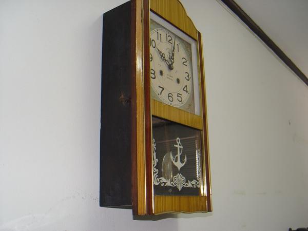 นาฬิกาแขวนลูกตุ้ม Steel Master (Anchor Brand)ตราสมอ 31 วัน 2ลาน 6