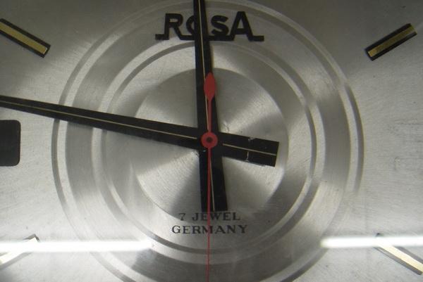 นาฬิกาแขวนโบราณเยอรมัน ระบบไขลานออโตเมติก 1