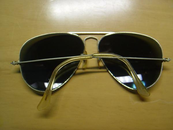 แว่นกันแดด RayBan Aviator USA BL 58 มม สภาพพร้อมใช้งาน 1