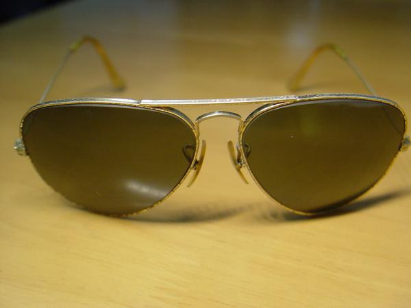 แว่นกันแดด RayBan Aviator USA BL 58 มม สภาพพร้อมใช้งาน 3