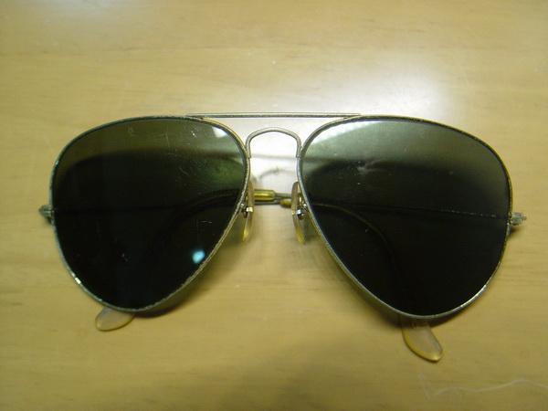 แว่นกันแดด RayBan Aviator USA BL 58 มม สภาพพร้อมใช้งาน 9