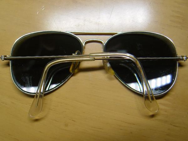 แว่นกันแดด RayBan Aviator U.S.A. BL 52 มม. เลนส์สภาพดีมากไม่มีรอย 1