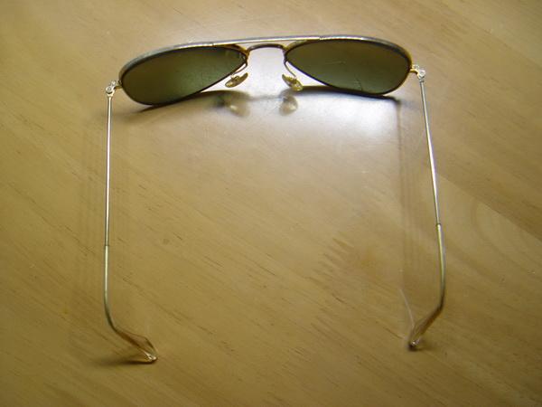 แว่นกันแดด RayBan Aviator U.S.A. BL 52 มม. เลนส์สภาพดีมากไม่มีรอย 2