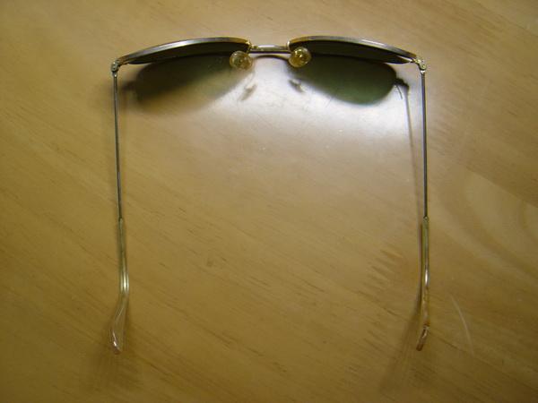 แว่นกันแดด RayBan Aviator U.S.A. BL 52 มม. เลนส์สภาพดีมากไม่มีรอย 3