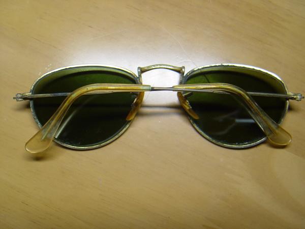 แว่นกันแดด RayBan ทรงรี U.S.A. BL 52 มม. เลนส์เขียวG15 สภาพดีมาก 1