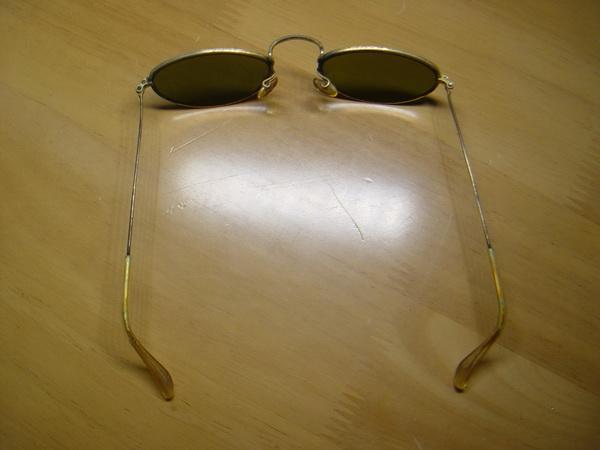 แว่นกันแดด RayBan ทรงรี U.S.A. BL 52 มม. เลนส์เขียวG15 สภาพดีมาก 2